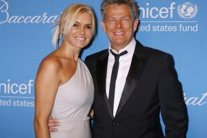 David Foster and his then wife