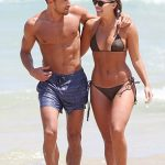 Natasha Oakley with boyfriend Gilles