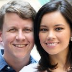 Jo Ling Kent with her husband Scott Conroy