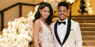 Pregnant chanel Iman is with her husband