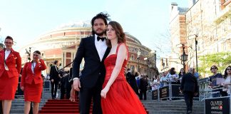 Rose Leslie & Her husband Kit Harington