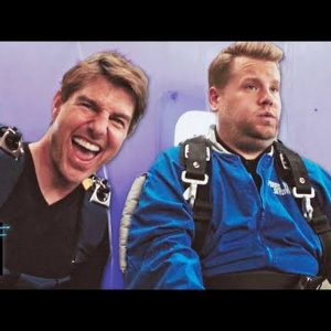 Tom Cruise And James Corden