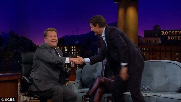 Tom Cruise In James Corden Show