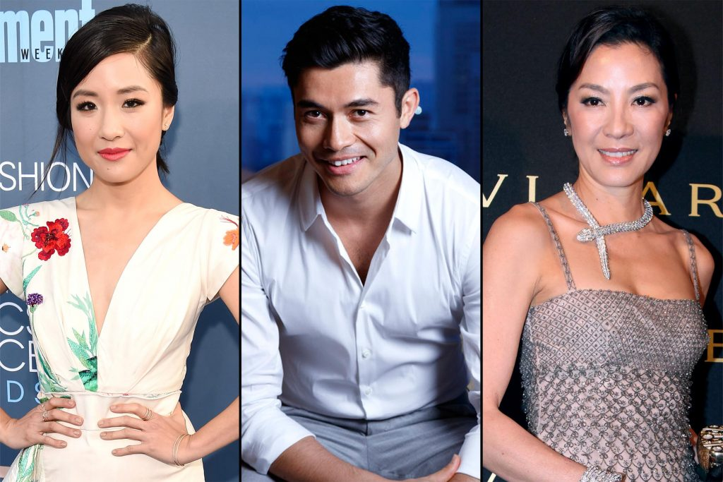 Henry Golding stars with Michelle Yeoh and Constance Wu in 'Crazy Rich Asians'.