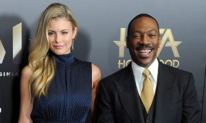 Eddie Murphy and Piage Butcher