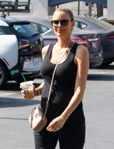 Paige Butcher Spotted flaunting engagement ring.
