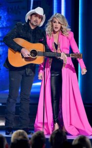 Carrie Underwood and Brand Paisley
