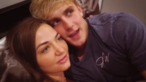 Jake Paul and Erika Costell