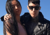 Trace Cyrus and Taylor Sanders