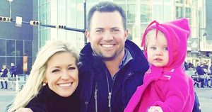 Ainsley Earhardt with her Husband Will Proctor and Daughter Hayden