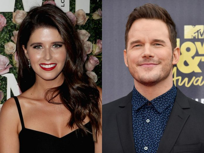American Actor Chris Pratt and Katherine Schwarzenegger