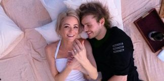 Crystal Leigh and Michael Clifford