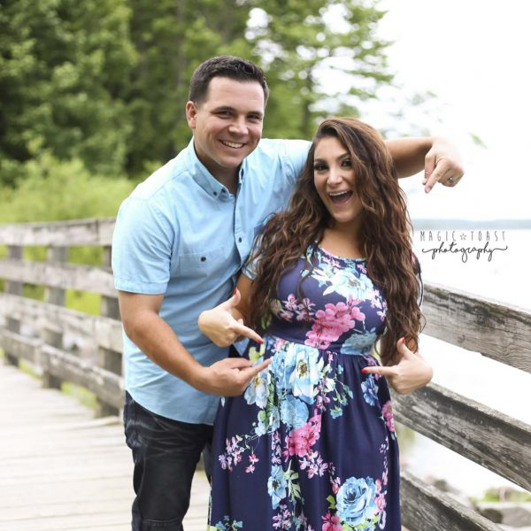 Deena Cortese and Husband, Christopher Buckner
