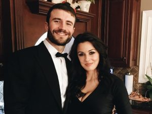 Hannah Lee Fowler and her Husband Sam Hunt