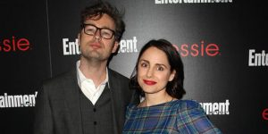 Karl Geary and his Wife Laura Fraser