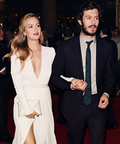 Adam Brody and his Wife