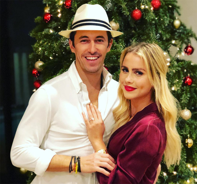 Claire Holt and Andrew Joblon
