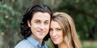 David Henrie and Maria Cahill