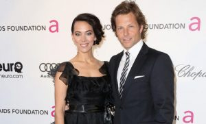 Jamie Bamber with his Wife Kerry
