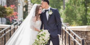 Marcus Paige with his Wife