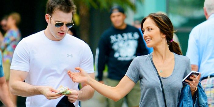 Minka Kelly and her Ex-Boyfriend Chris Evans