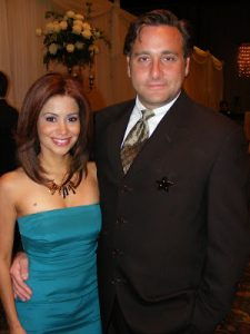 Sibila Vargas with her Husband