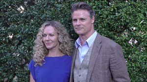 Dylan Neal with his Wife