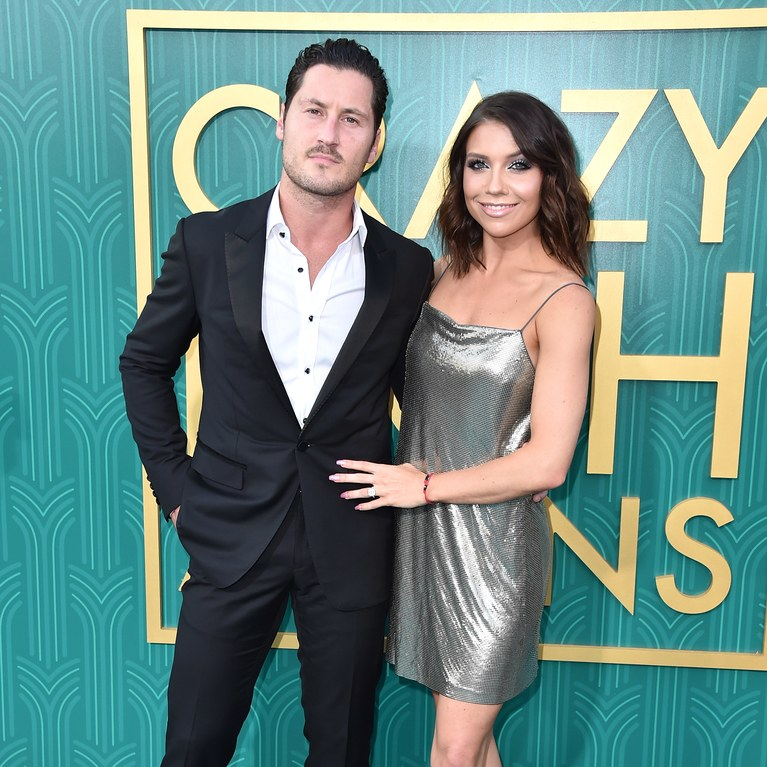 Jenna Johnson and Valentin Chmerkovskiy
