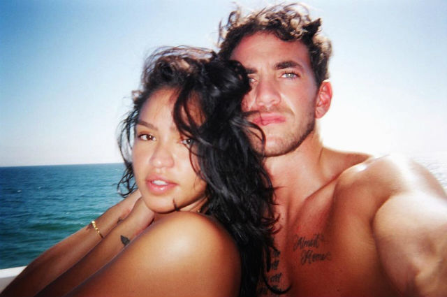 Singer Cassie and Her Boyfriend Alex