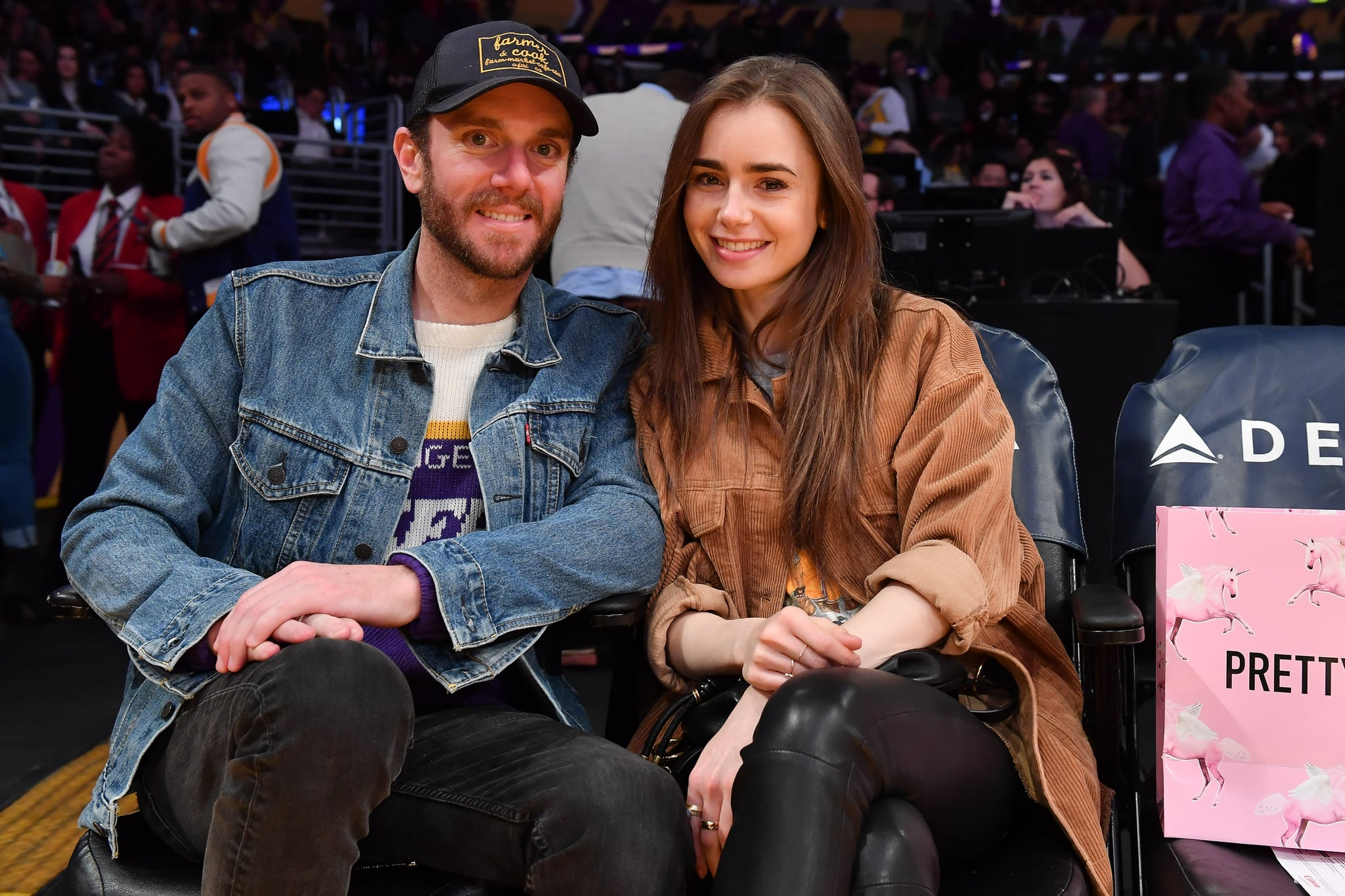 Lily Collins and Charlie McDowell