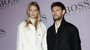 Alex Pettyfer and Model Toni Garrn