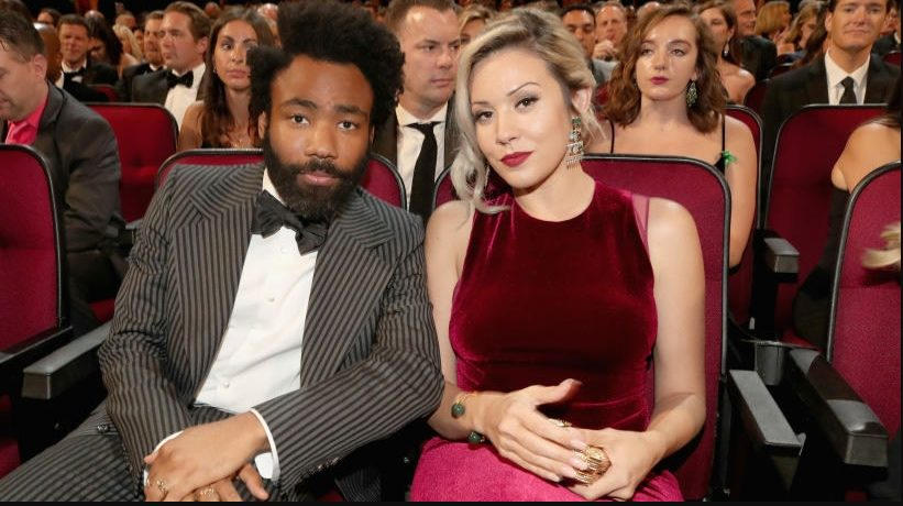 Donald Glover and Michelle White