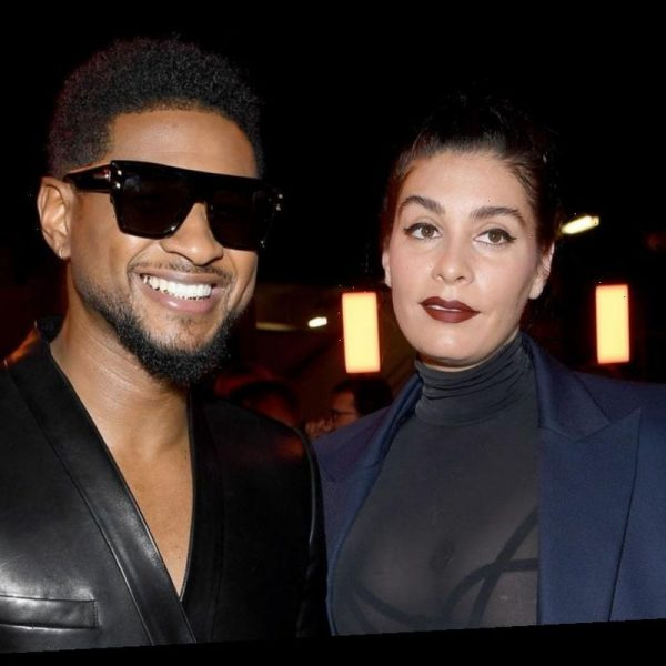 Usher and HIs Girlfriend Jenn Goicoechea